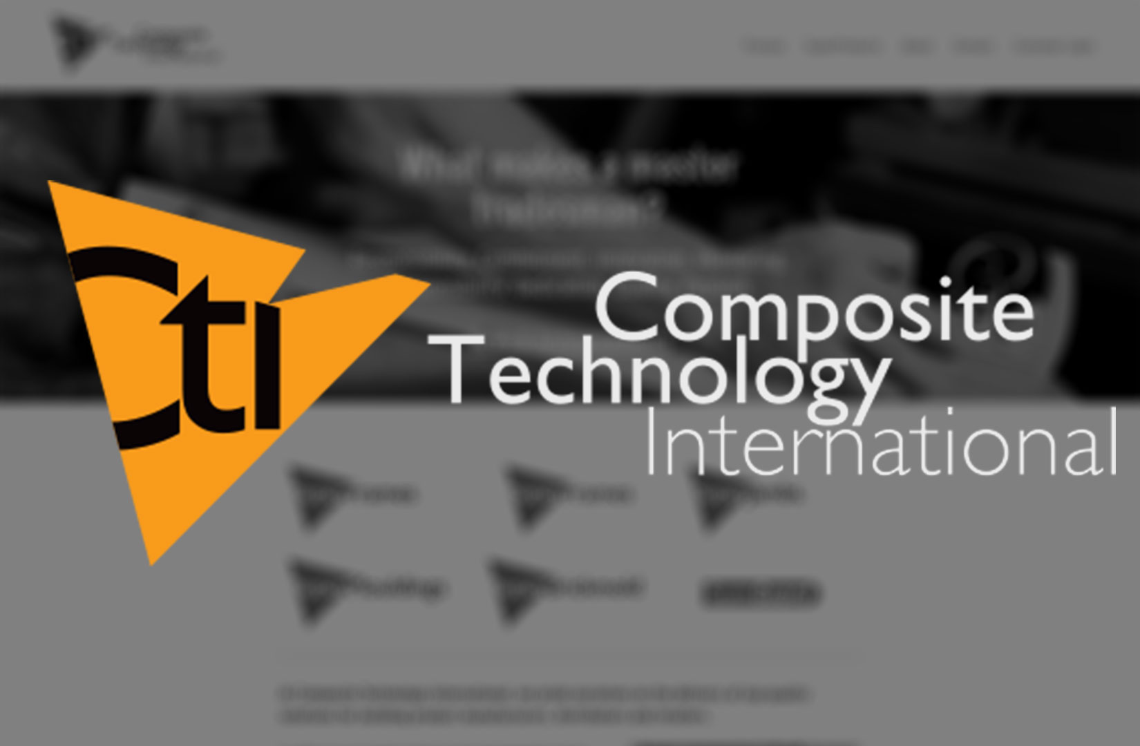 Composite Technology Internation Provides Sustainable Building Products | CTI was an EnVision Corporation Environmental Incubator Project | EnVision has fully divested from Composite Technology International